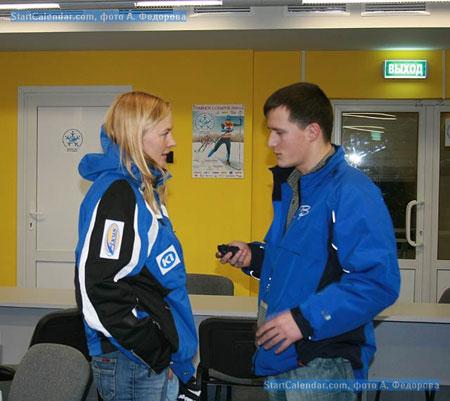 Вечернее интервью в пресс-центре